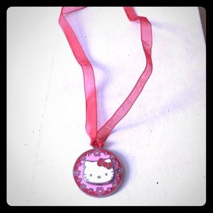 Hello Kitty Ribbon Necklace.
